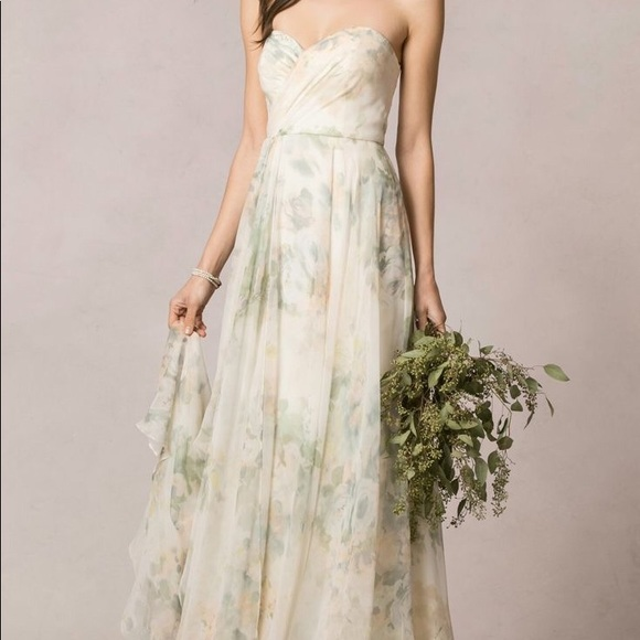 4fe941069a12 Jenny Yoo Dresses & Skirts - Jenny Yoo Nyla Gown Floral Gown